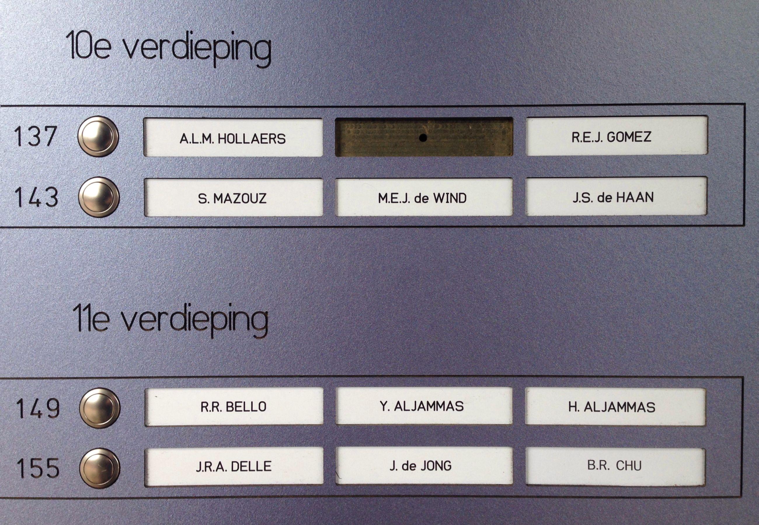 10+11e verdieping